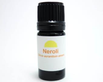 Neroli essential oil (Citrus aurantium amara) Finest Neroli Oil Organic Orange Blossom essential oil