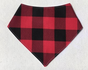 Lightweight Bandana Bib - Buffalo Lumberjack Plaid