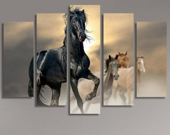 LARGE XL Canvas Wall Art Print Home Decoration - Framed and Stretched - 8146