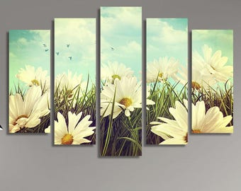 LARGE XL Canvas Wall Art Print Home Decoration - Framed and Stretched - 4085