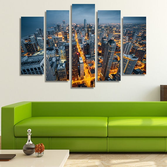Chicago Home Decor Stores: Chicago Wall Art Chicago Wall Décor Chicago Skyline Chicago