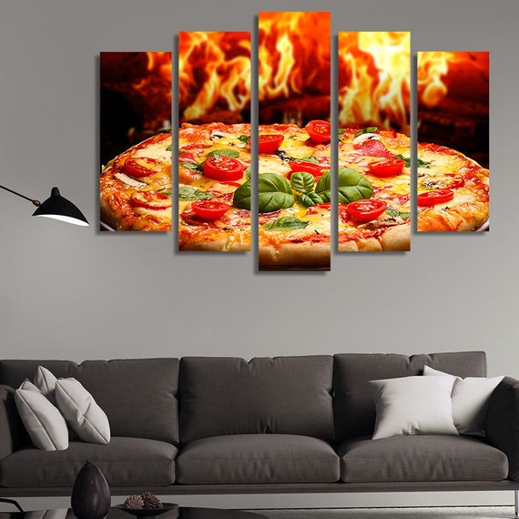 Restaurant Wall Art Italian Food Food Photography Pizza | Etsy