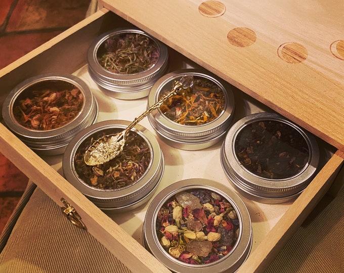 Witchy Tea Sampler ~ Tea Box Magical Blends