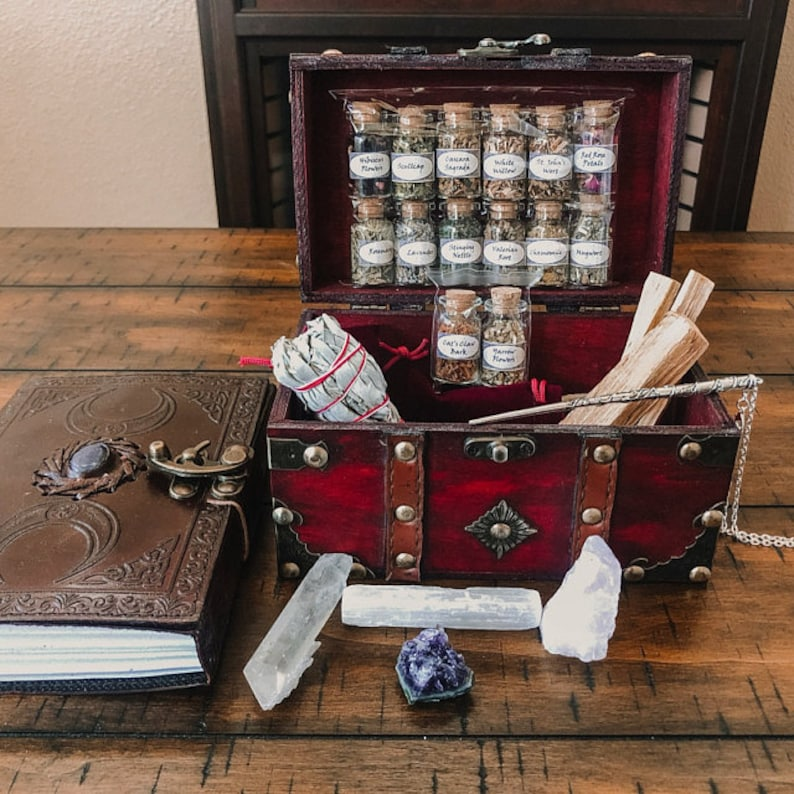 Witchcraft Kit  book of shadows  witch kit  witch  altar image 0