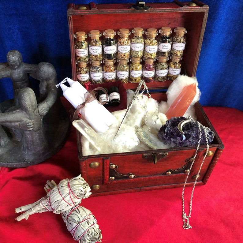 WITCH STARTER KIT  witchcraft kit  witch altar sets  witch image 0