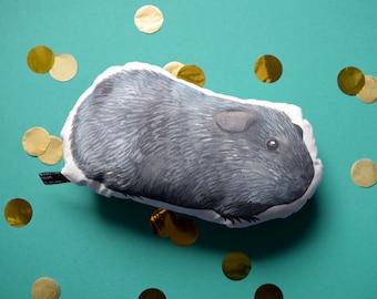 Guinea-pig soft toy - The Rex - handmade plush