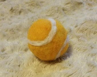 Newborn Tennis Ball - Felted Tennis Ball - Tennis Photo Prop - Sports Photo Prop