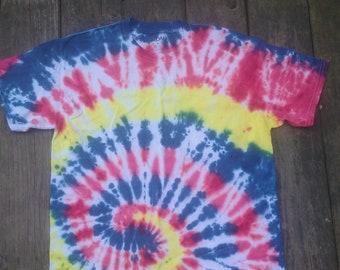Spiral Tie Dye - Adult M