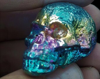 Bismuth Mini Skull