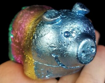 Bismuth Piggy Bank