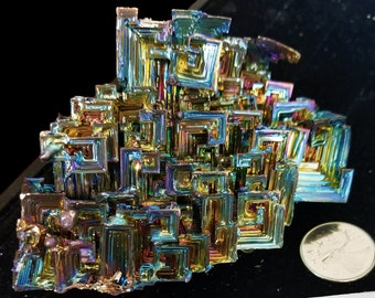 512 Gramme Bismuth Crystal