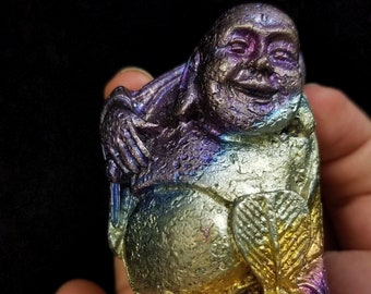 Bismuth Large Travelling Buddha