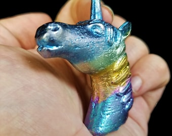 Bismuth Long Horn Unicorn