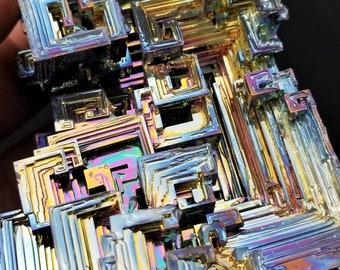 A Large 550 Gram Bismuth Crystal