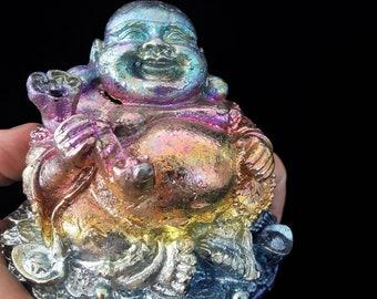 XL Laughing Bismuth Buddha