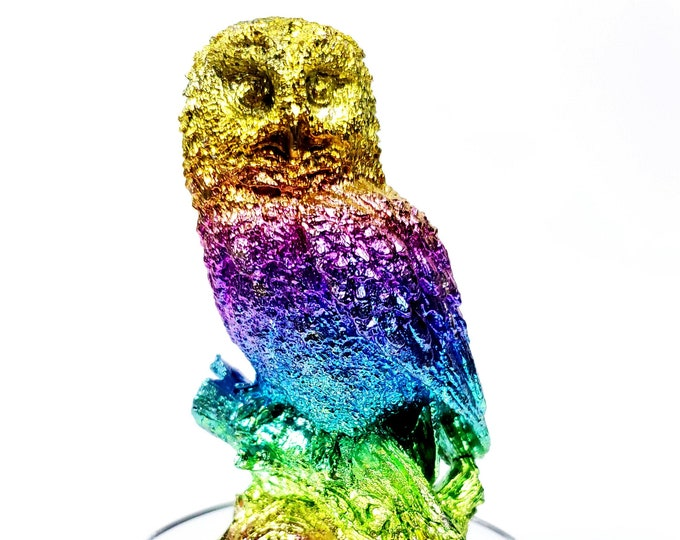 Featured listing image: Bismuth Large Extravagant Owl