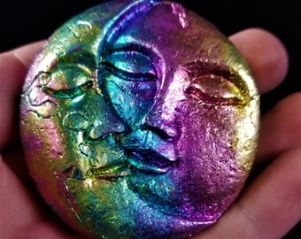 Bismuth Large Sun and Moon