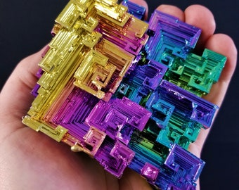 620 Gram High End Super Vivid Bismuth Crystal