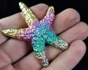 Bismuth Large Starfish