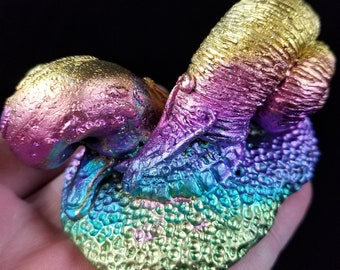 Bismuth Snail Pair