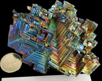 340 Gramme Bismuth Crystal
