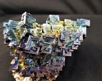 Large 616 Gram Bismuth Crystal