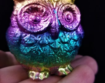 Large Bismuth Fat Owl