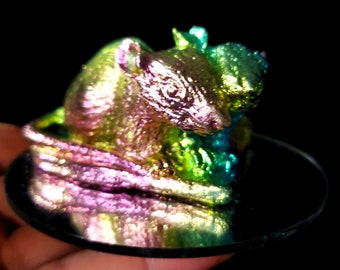Bismuth Heart Shaped Mice