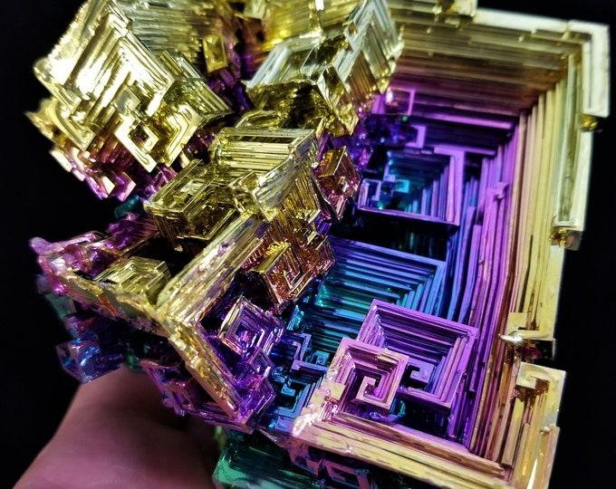 Featured listing image: 999 Gram Large Highend Bismuth Crystal