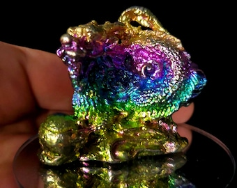 Bismuth Small Chinese Dragon