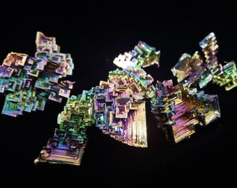 250 Grams(.55Lbs)  of Bismuth Crystals(Whole Sale Price)