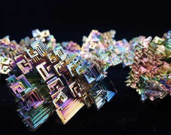 4.4 Lbs (2 kgs) of Bismuth Crystals Wholesale