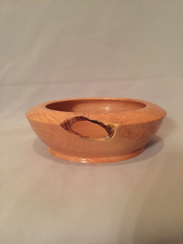 Hand made Black Locust Burl Bowl