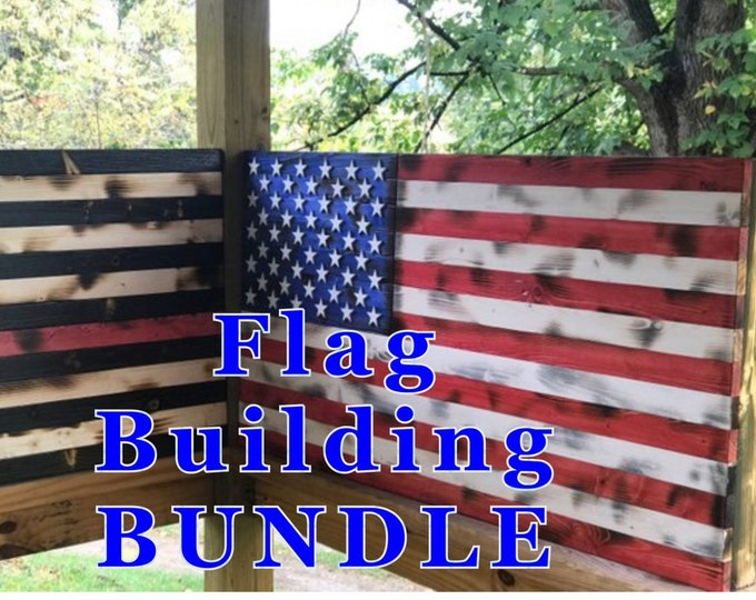BUNDLE Flag Building Jigs and Templates