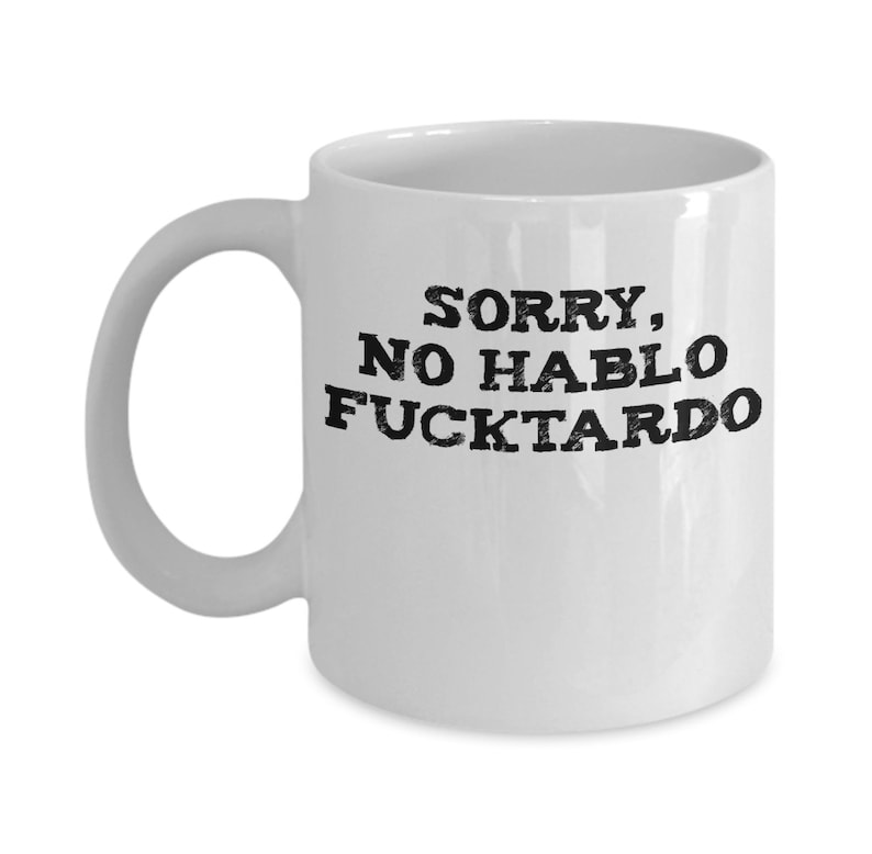 The F Word and Verb Definition Coffee Mug 11 Ounces Willcallyou
