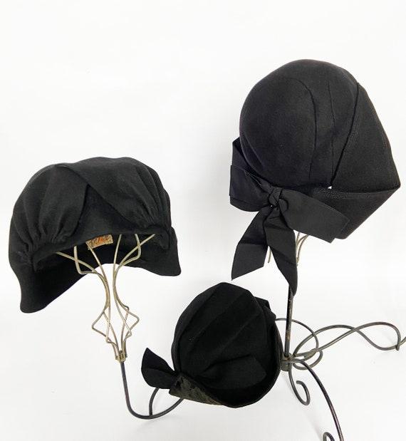 Vintage 40s Hat Trio