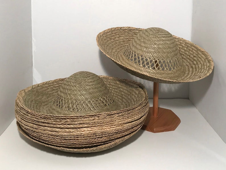 Vented Seagrass Hat Bodies