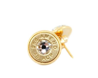 "45 ACP ""2nd Amend"" Bullet Studs"