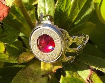 G.I. Jane Darling Bullet Ring in Silver