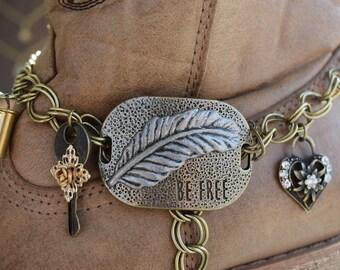 Boot Charm Bracelet