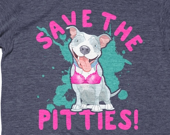 Save The Pitties - Save The Tatas, Breast Cancer Survivor Shirt, Breast Cancer Gifts, Breast Cancer Shirt