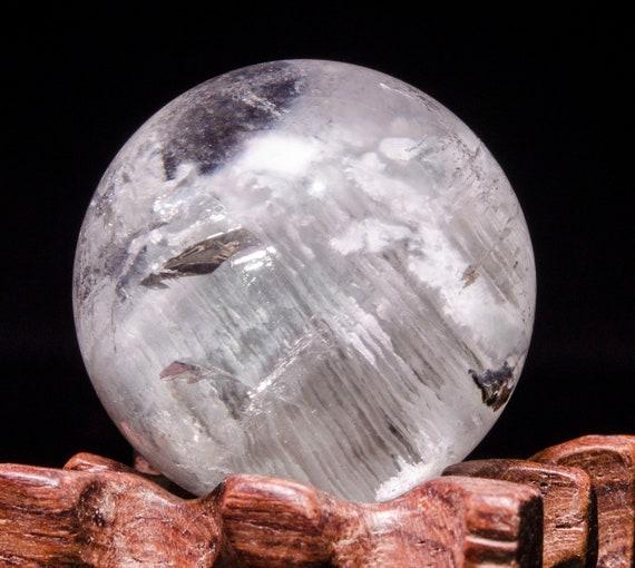 White Phantom Clear Thousands Layers Quartz Sphere Include Garden Crystal  ball/Phantom Crystal Scenic Quartz/Multi,inclusions Crystal Ball