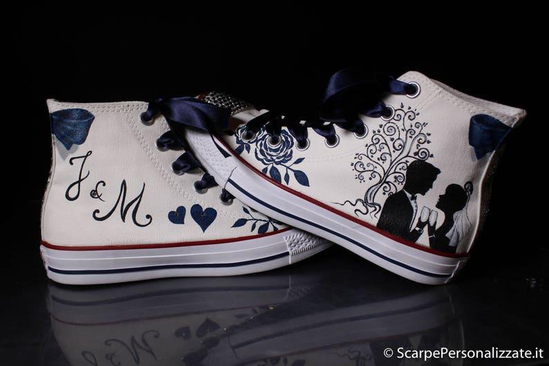 3cffda89edfb1 Bluza buty pomalowane obuwie niestandardowa ręka sylwetka | Etsy