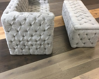 Wondrous Tufted Ottoman Etsy Lamtechconsult Wood Chair Design Ideas Lamtechconsultcom
