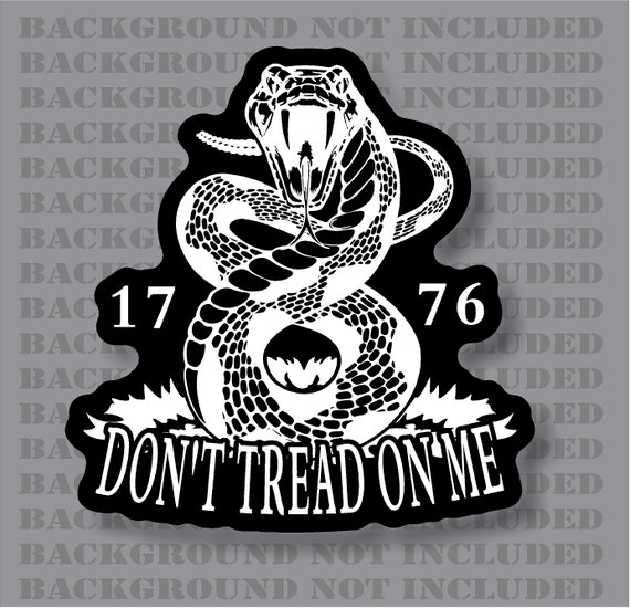Classic Car Seller Network: DON/'T TREAD ON ME RATTLE SNAKE LOGO Decal Car Window