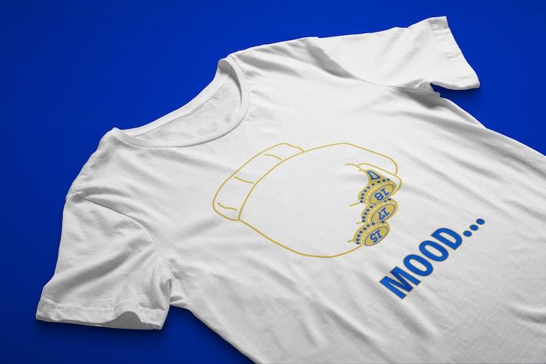 a42ba74f3be2 Draymond Green MOOD Shirt White Trolling LeBron James Arthur | Etsy