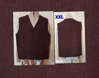 Vintage J Crew Wool Vest Size Large Z4