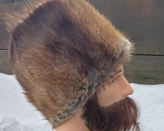 Vintage fur hat 3e25f74fd45a