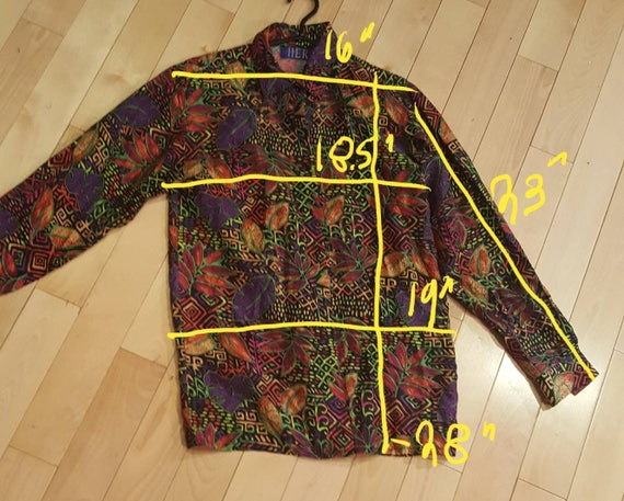 Psychedelic Silk Blouse - image 6