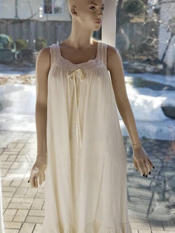 Gauze Cotton Nightgown